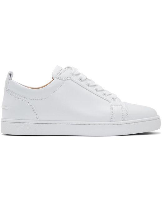 メンズ Christian Louboutin ホワイト Lou Junior スニーカー White