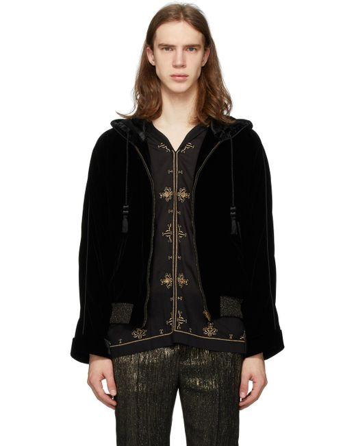 メンズ Saint Laurent ブラック Djabella ジャケット Black