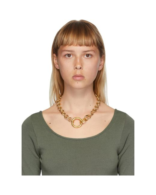 Laura Lombardi ゴールド Fede ネックレス Metallic