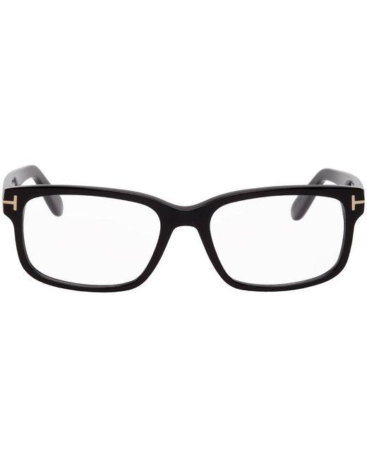 Tom Ford Black Square Optical Glasses for men