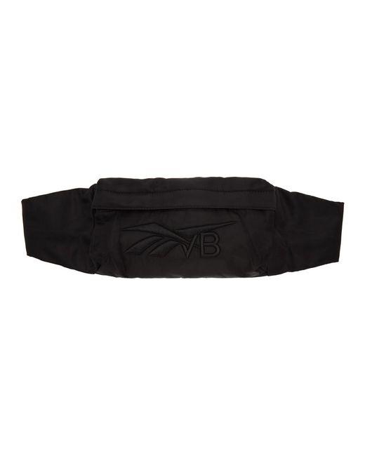 Reebok X Victoria Beckham ブラック ロゴ マネー バッグ Black
