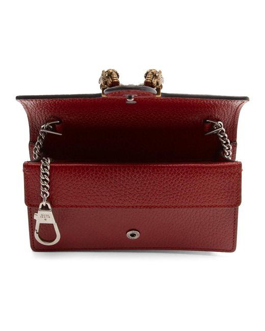 Gucci Red Super Mini Dionysus Bag