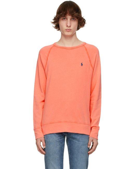 メンズ Polo Ralph Lauren レッド Spa スウェットシャツ Multicolor