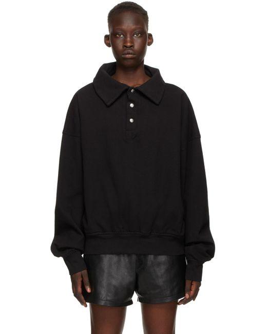 Rhude ブラック Rhacer Ivy スウェットシャツ Black