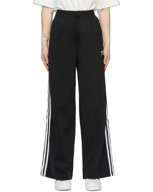 Adidas Originals ブラック Adicolor リラックス ラウンジ パンツ Black