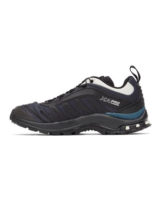 Salomon ブラック And グリーン Xa-pro Fusion Advanced スニーカー Black