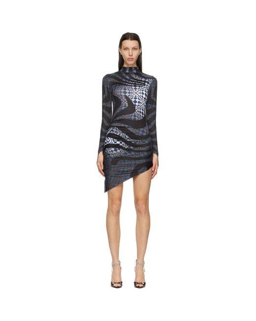 Maisie Wilen グレー Orbit City ドレス Gray