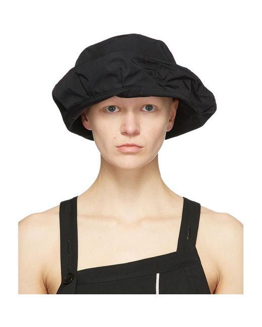 Y's Yohji Yamamoto ブラック Memory ハット Black