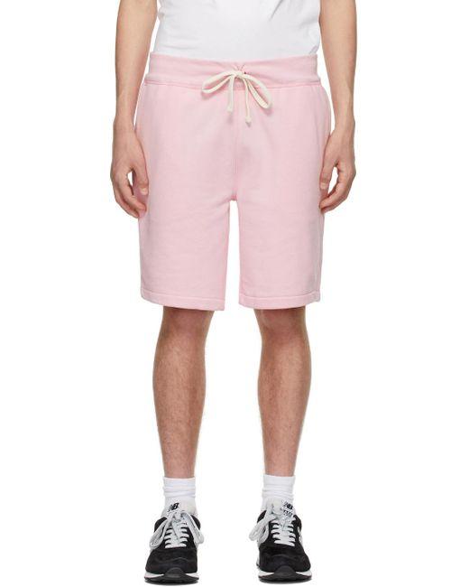 メンズ Polo Ralph Lauren ピンク ショーツ Pink