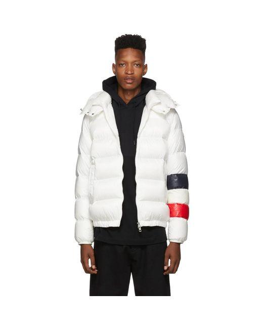 Moncler White Down Willm Jacket for men