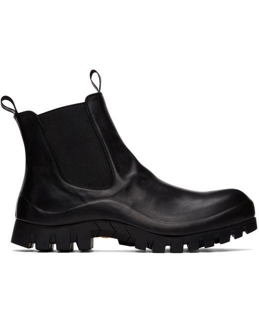 メンズ Officine Creative ブラック Cleantrek 1 チェルシー ブーツ Black