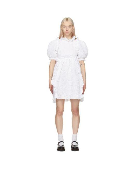 CECILIE BAHNSEN ホワイト Lotta ドレス White