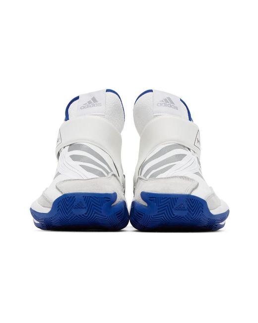 メンズ Adidas Originals ホワイト Crazy Byw スニーカー Blue