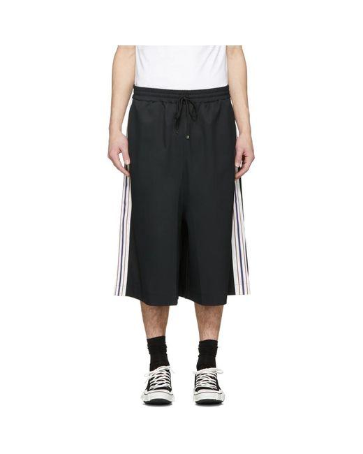 Miharayasuhiro - Black Line Tape Skirt Trousers for Men - Lyst