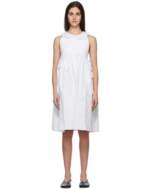 Kika Vargas ホワイト Aida ドレス White