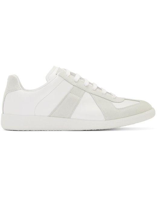 メンズ Maison Margiela オフホワイト Replica スニーカー White