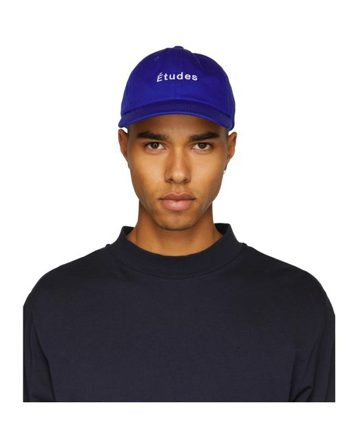 Etudes Studio | Blue Still Logo Cap for Men | Lyst