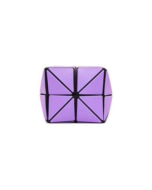 メンズ Bao Bao Issey Miyake パープル Lucent Frost ポーチ Purple