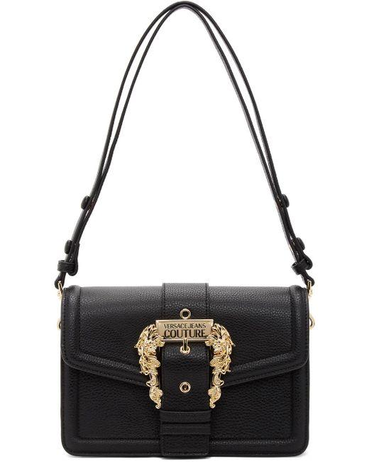 Versace Jeans ブラック Couture 1 ショルダー バッグ Black