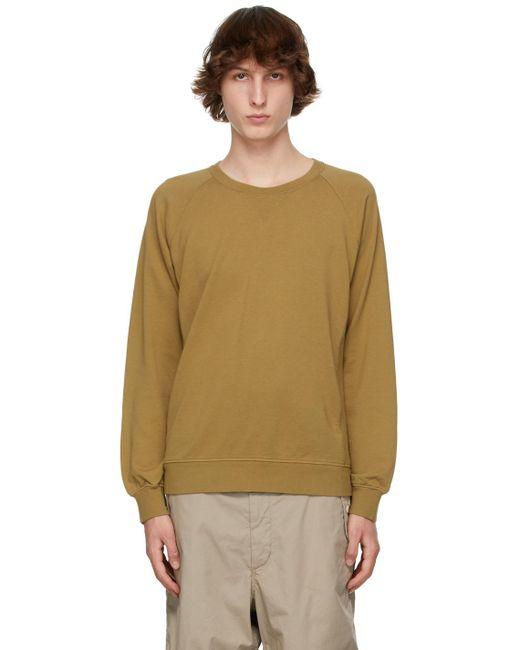 メンズ Visvim カーキ Jv スウェットシャツ Natural