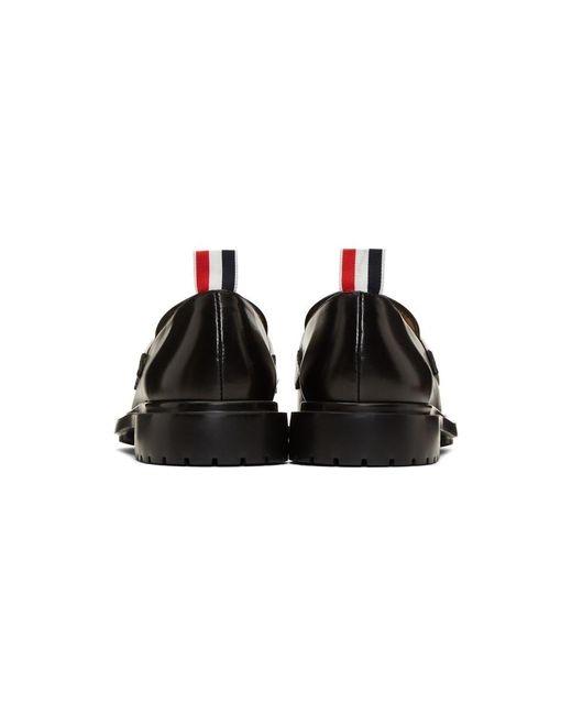 Thom Browne Tricolor Band Loafers PYPfsX