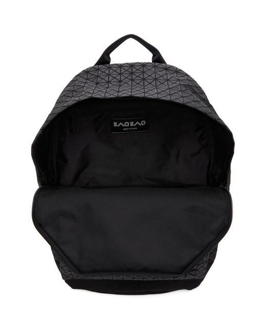 メンズ Bao Bao Issey Miyake ブラック Daypack バックパック Black