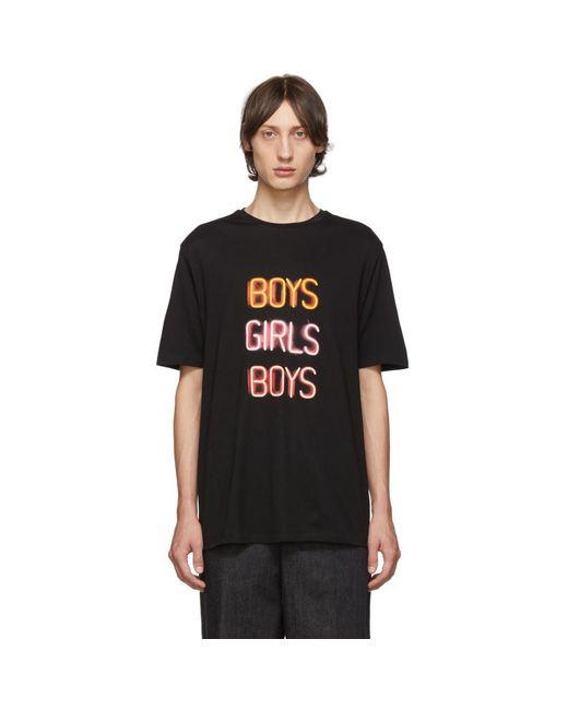 メンズ Neil Barrett ブラック Boys Girls Boys T シャツ Black