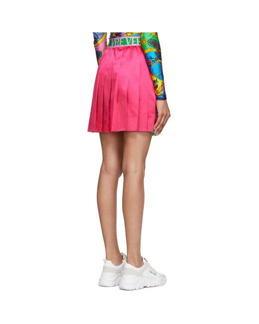 Versace Jeans マルチカラー ペイズリー Fantasy ミニスカート Multicolor