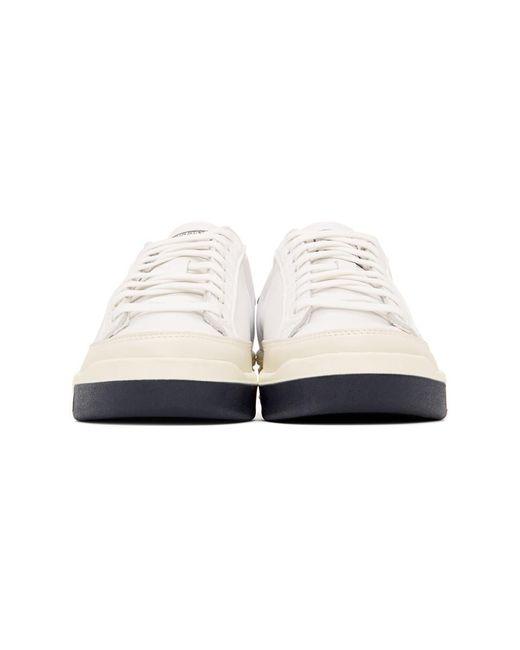 メンズ Adidas Originals ホワイト And ネイビー Rod Laver スニーカー White