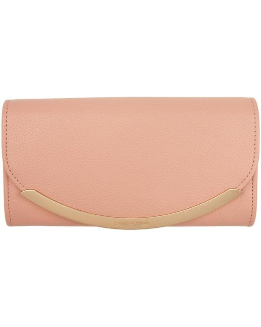 See By Chloé ピンク ロング Lizzie コンチネンタル ウォレット Pink