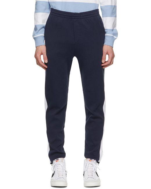 メンズ Polo Ralph Lauren ネイビー Interlock トラック パンツ Blue