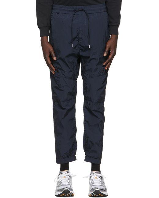 メンズ C P Company ネイビー Chrome-r カーゴ パンツ Blue