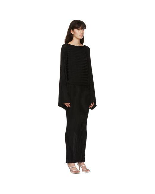 Totême  ブラック Maristella ドレス Black