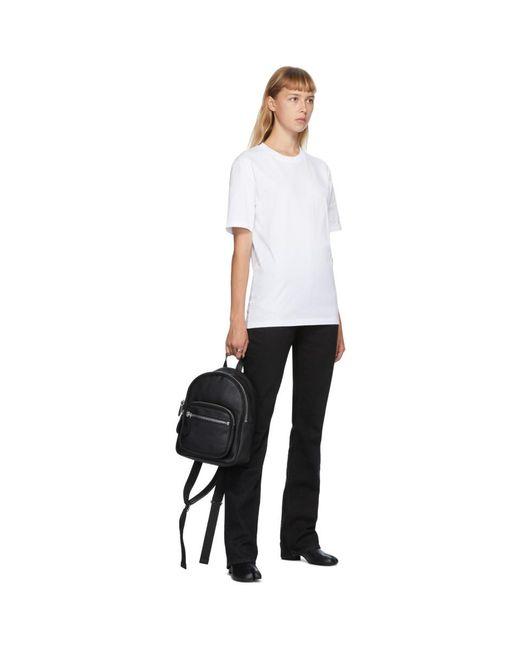 Maison Margiela ホワイト クラシック T シャツ White