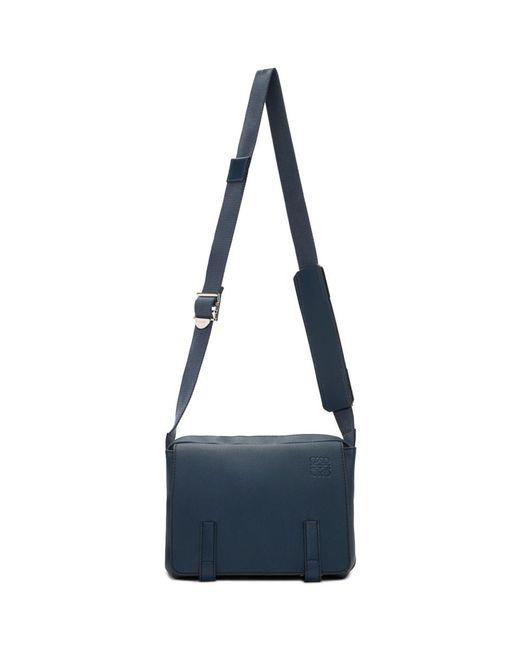 メンズ Loewe ネイビー Xs ミリタリー メッセンジャー バッグ Blue