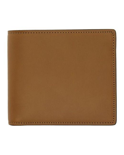 Maison Margiela Brown Leather Wallet for men