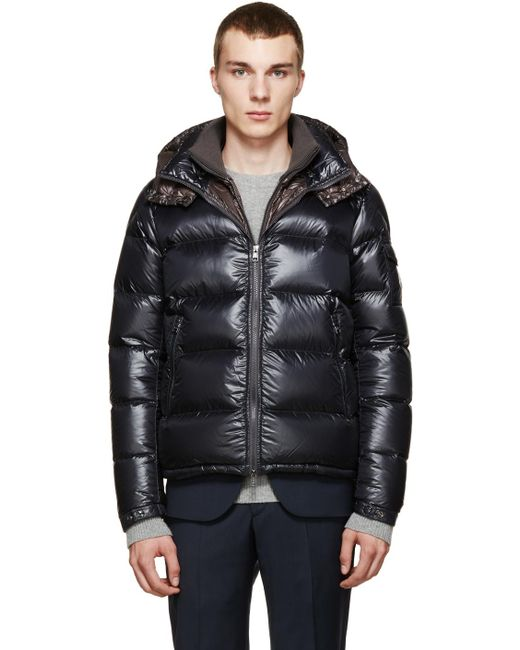 Moncler | Gray Grey Down Zin Jacket for Men | Lyst