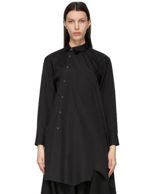 Comme des Garçons ブラック シャツ ドレス Black