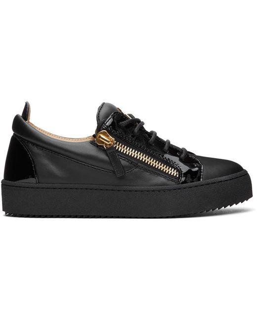 Giuseppe Zanotti ブラック May London Birel スニーカー Black