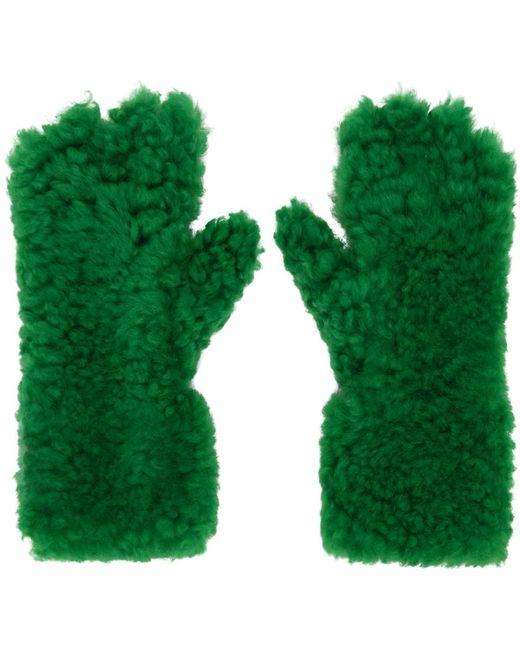メンズ Bottega Veneta グリーン グローブ Green