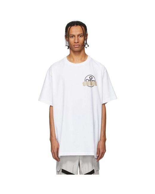 Off-White c/o Virgil Abloh White Tape T Shirt for men