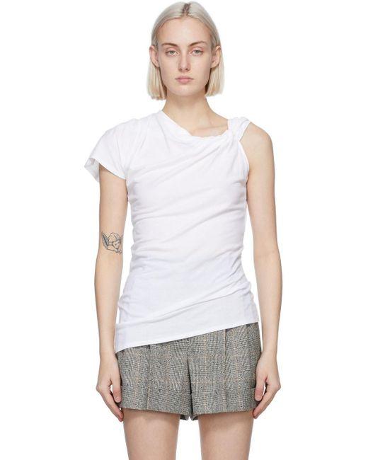 Alexander McQueen ホワイト T シャツ White