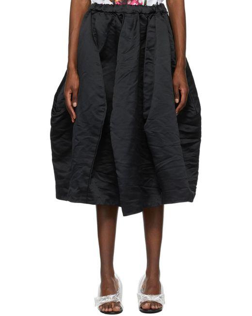 Comme des Garçons ブラック スカート Black