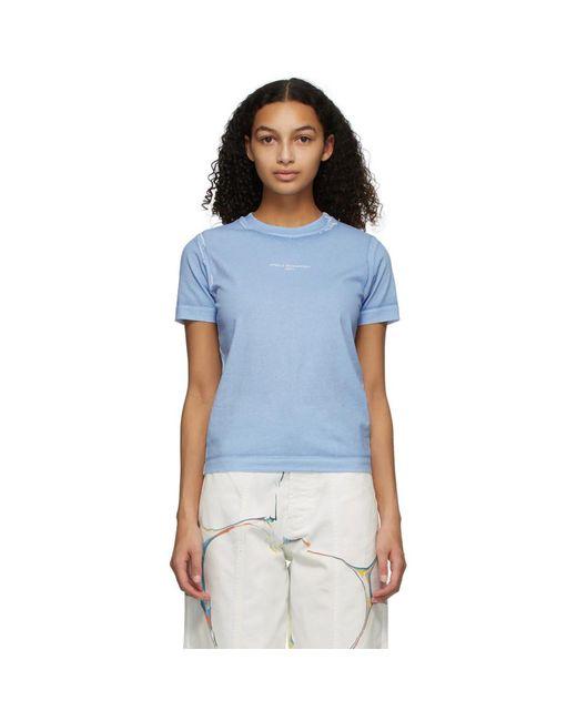 T-shirt bleu 2001 Stella McCartney en coloris Blue