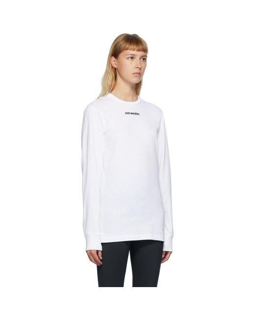 Off-White c/o Virgil Abloh ホワイト Marker T シャツ White