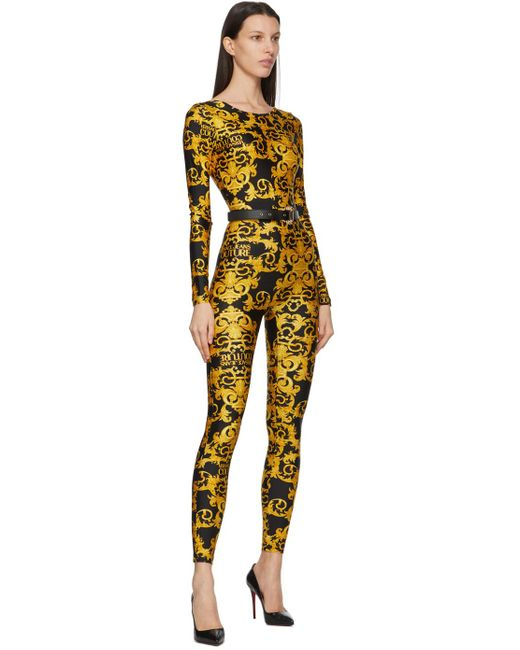 Versace Jeans ブラック Couture I ベルト Multicolor