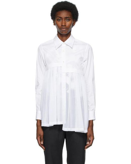Comme des Garçons ホワイト シャツ White