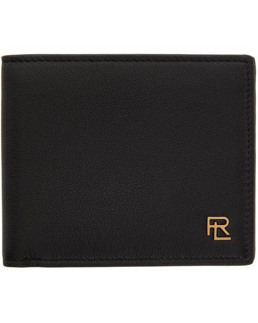 メンズ Ralph Lauren Purple Label ブラック ウォレット Black