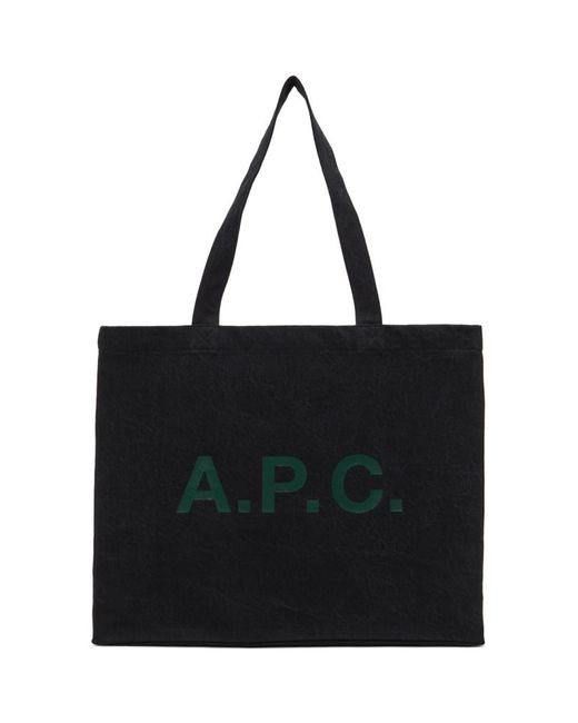 A.P.C. ブラック Diane トート Black
