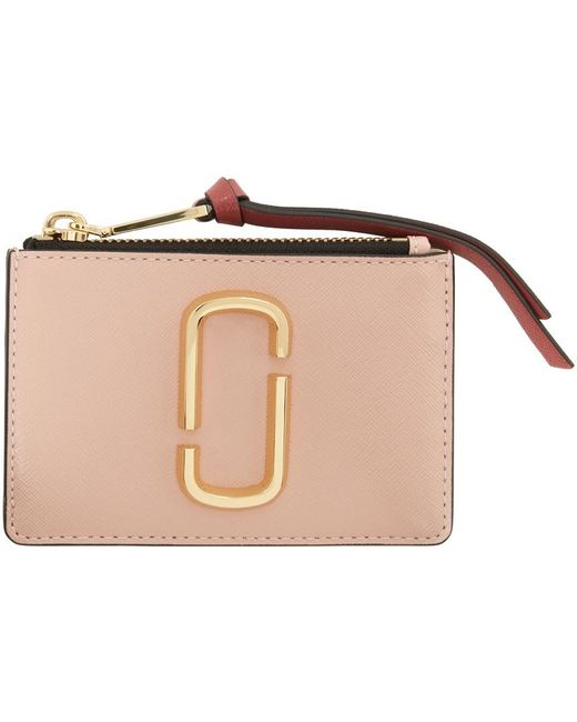 Marc Jacobs ピンク The Snapshot カード ケース Pink